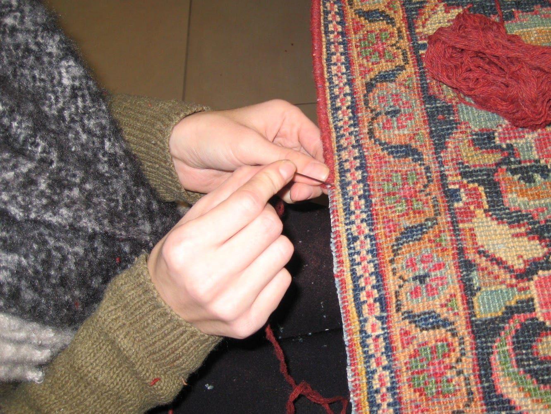 Réparation de lisière avec 100% laine de qualité